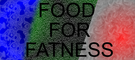 Food for fatness banner