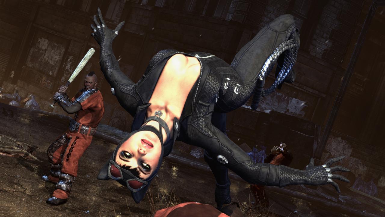 Batman arkham city catwoman mods porn clip