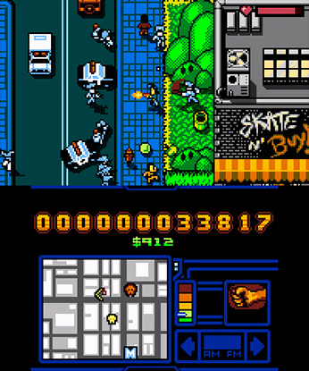 Retro City Rampage 3DS 1