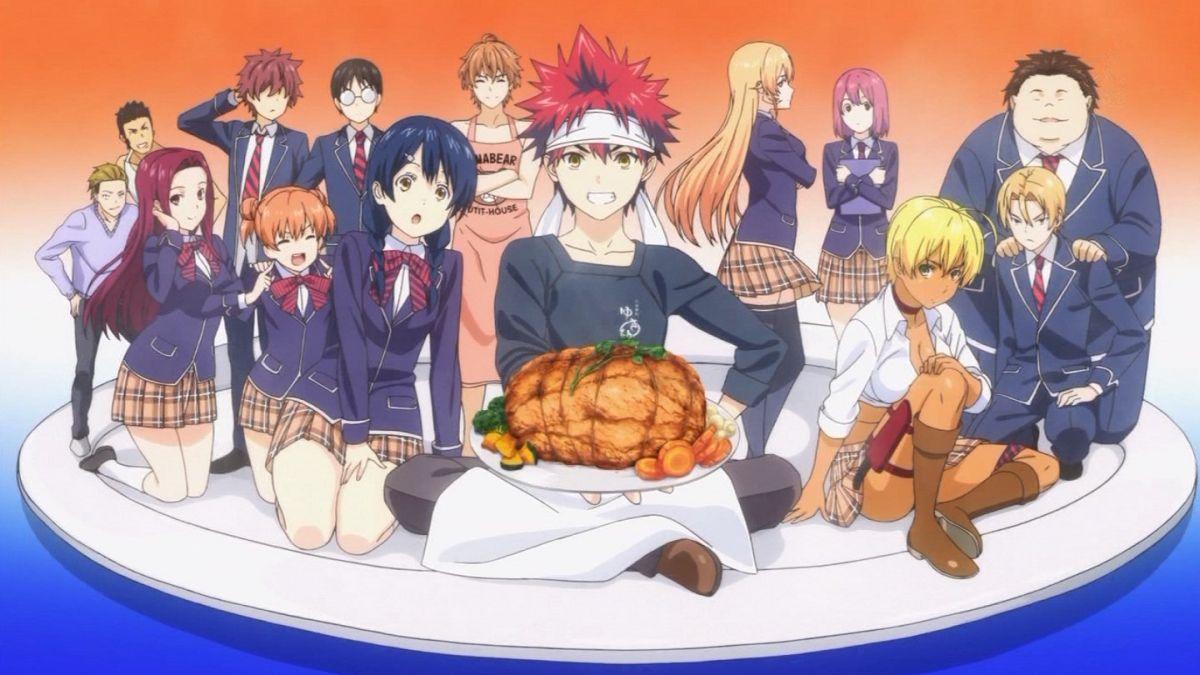 смотреть онлайн аниме кулинарная битва сомы 2 сезон