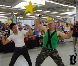 "Juandissimo & Jorgen Von Strangle from ""The Fairly Oddparents"" (Contradan Cosplay)"