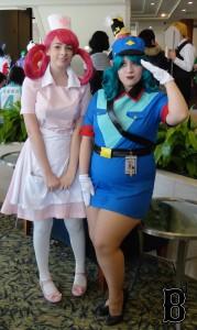"""Nurse Joy & Officer Jenny from """"Pokémon"""""""