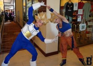 "Vegeta & Goku from ""Dragon Ball Z"""