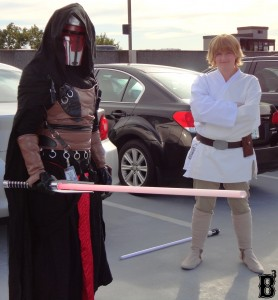 "Darth Revan & Luke Skywalker from ""Star Wars"""