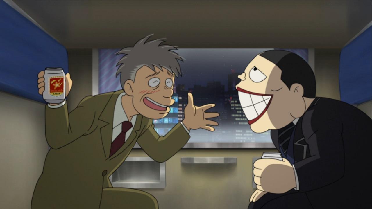 Laughing Salesman 1