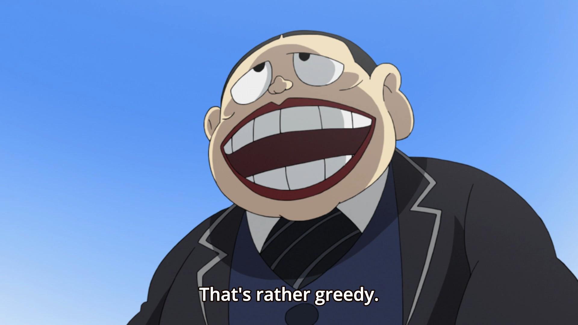 Laughing Salesman 6