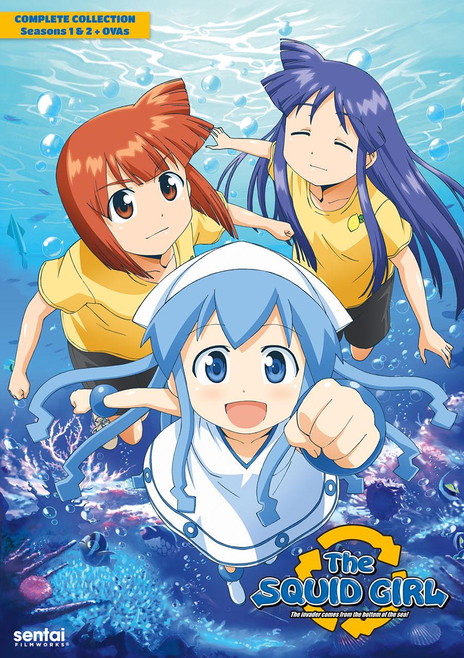 Squid Girl DVD