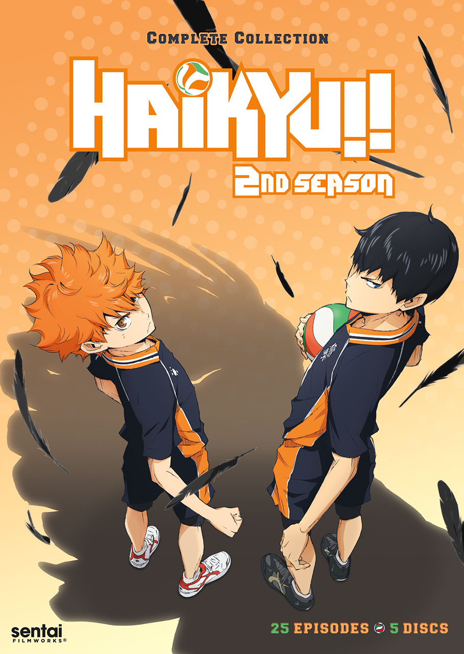 Haikyu Season 2 Box Art