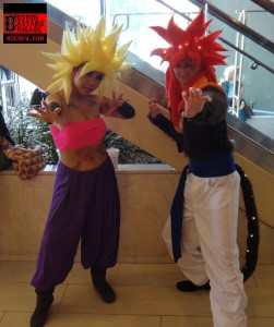 Caulifla & Goku (Dragon Ball series)