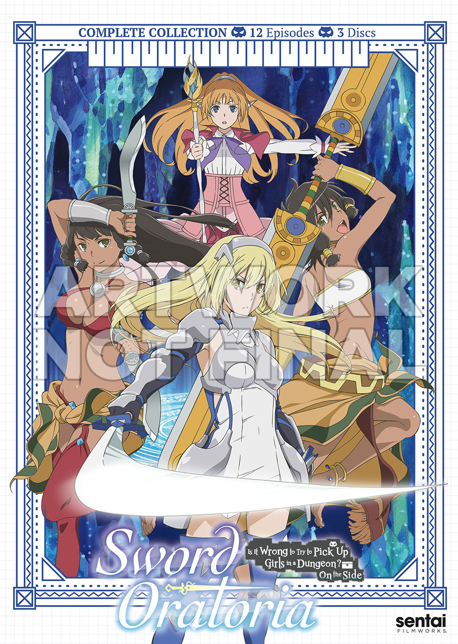 Sword Oratoria DVD