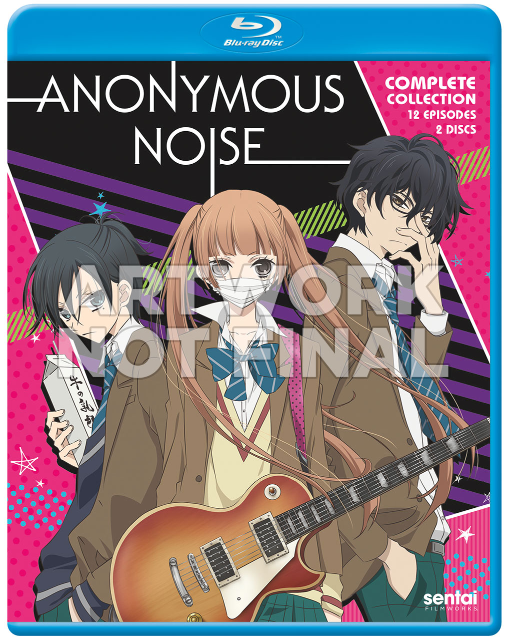 Anonymous Noise Blu-Ray