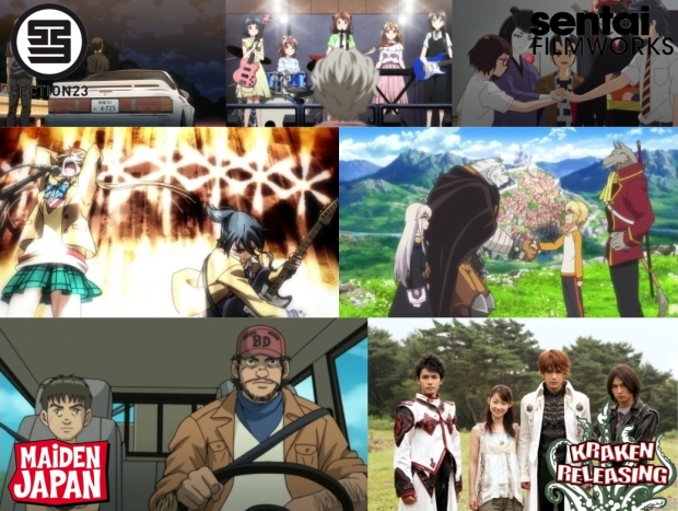 With Spring Ending And Summer Just Starting Out Section23 Films Is Looking To Give Anime Fans A Double Dose Of Rock N Roll Prescription For Japanese