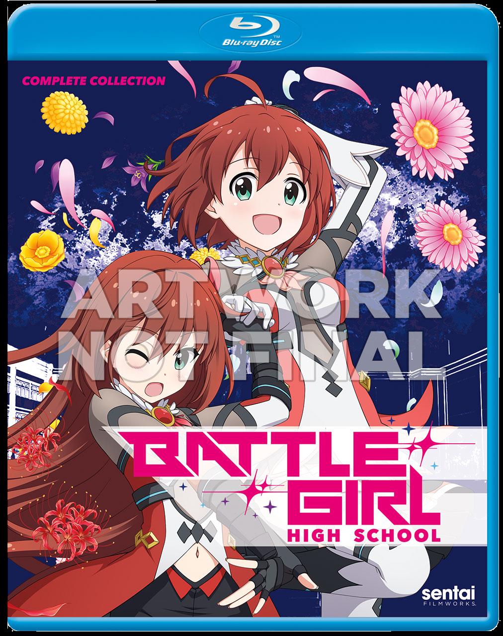 Battle Girls High School Blu-Ray