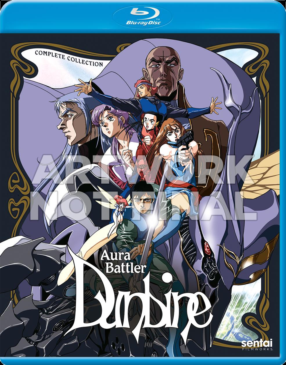 Auta Battler Dunbine cover