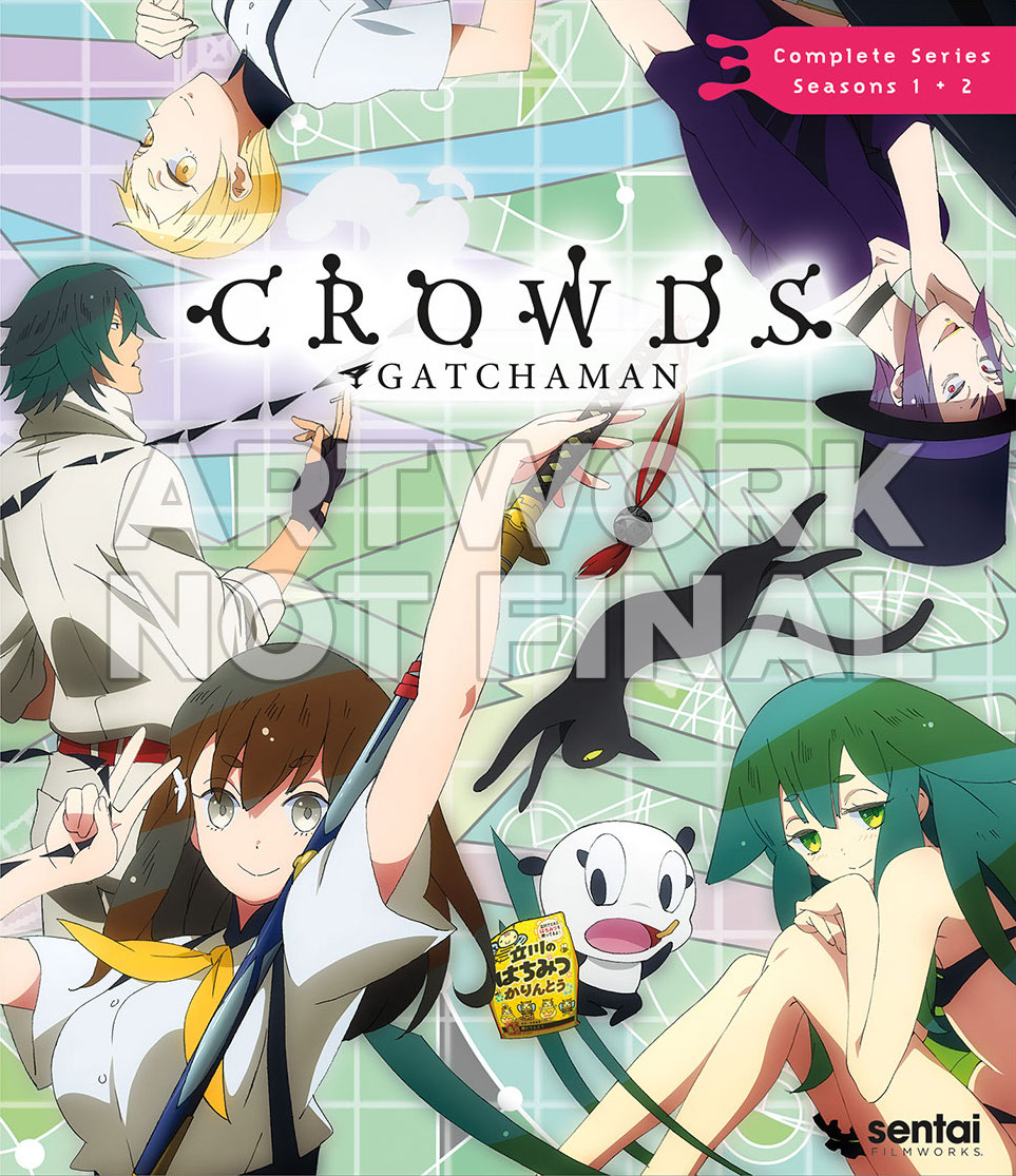 Gatchaman Crowds Cover