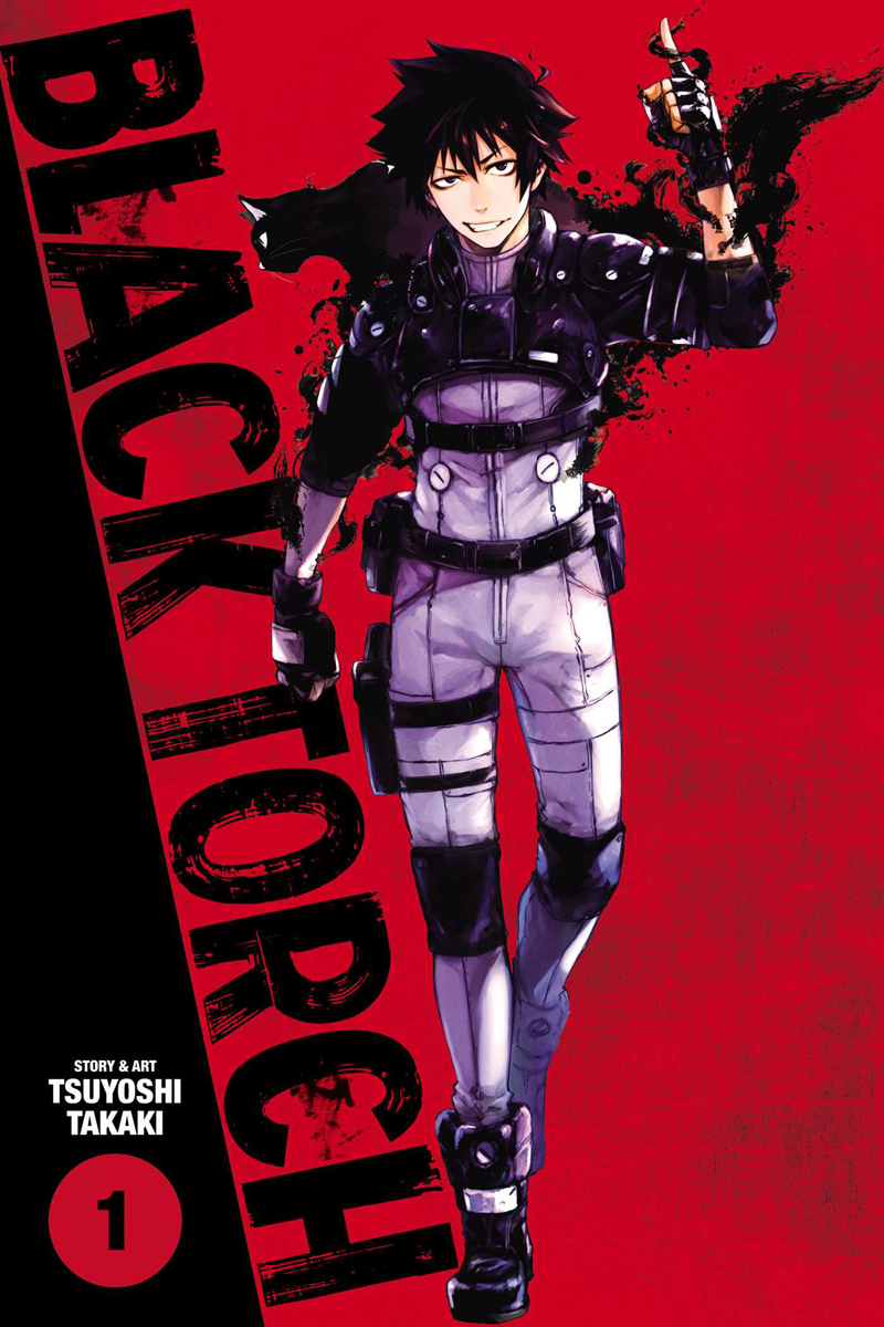 Black Torch 1 Cover