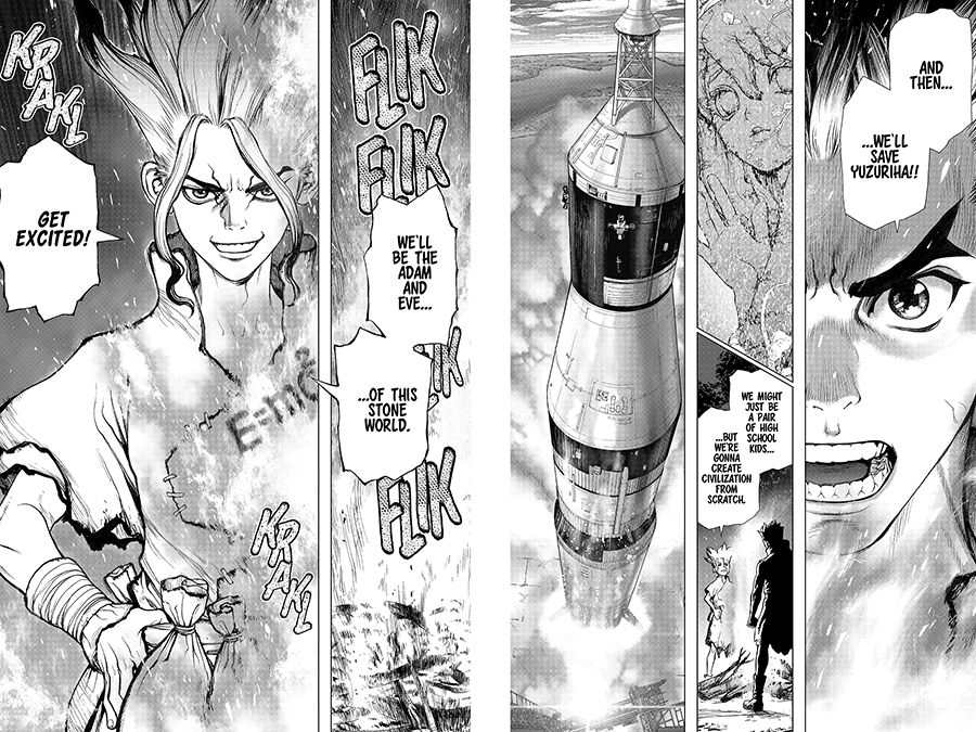 Dr. STONE 1-3