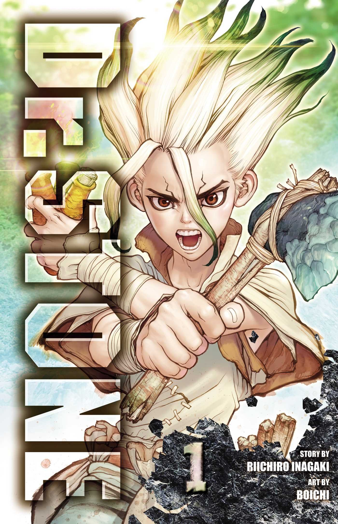 Dr. STONE 1 Cover