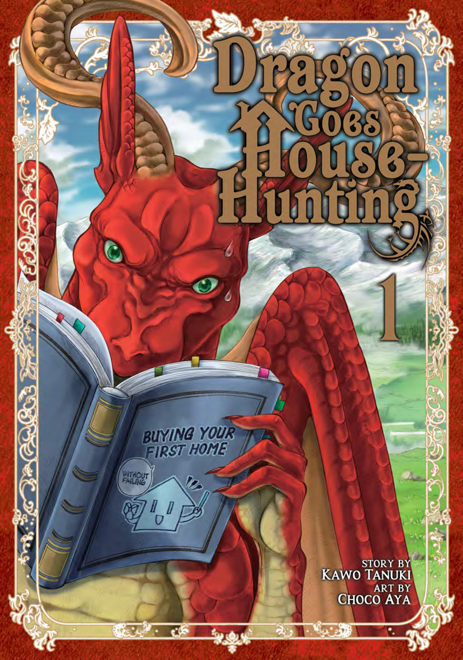 Dragon Goes House-Hunting 1 cover