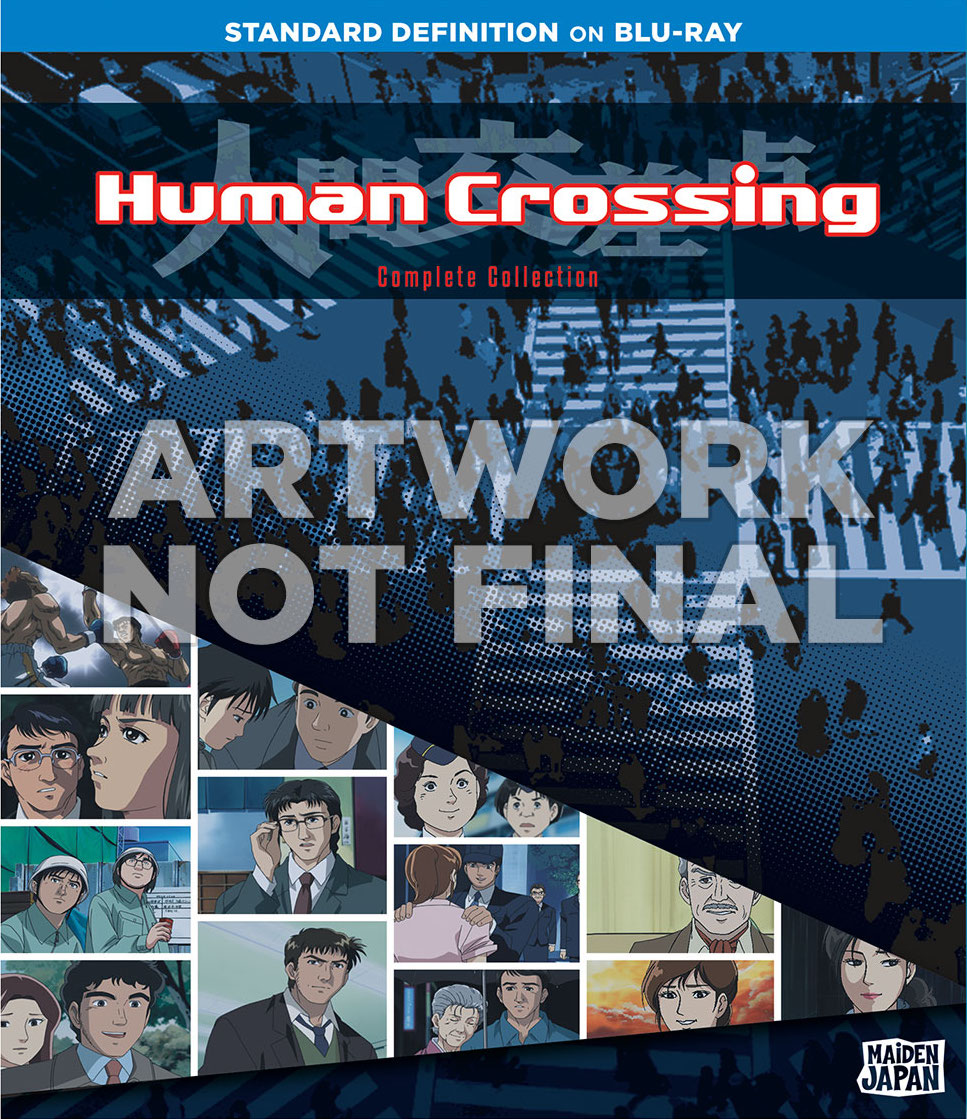 Human Crossing Cover