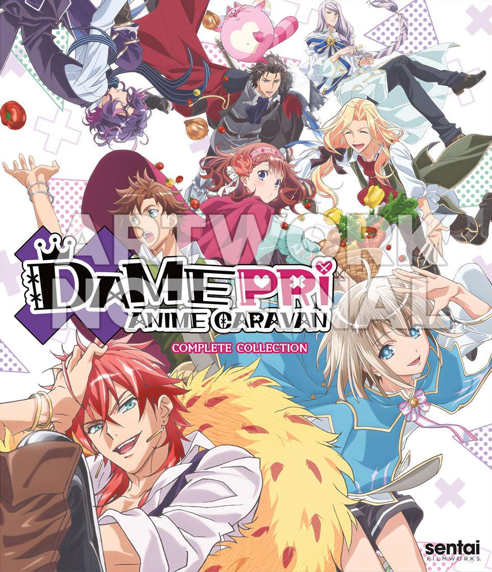 Damepri Anime Caravan Cover