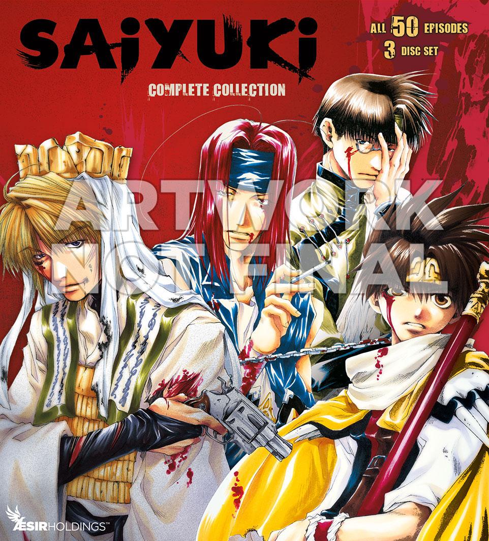 Saiyuki Cover