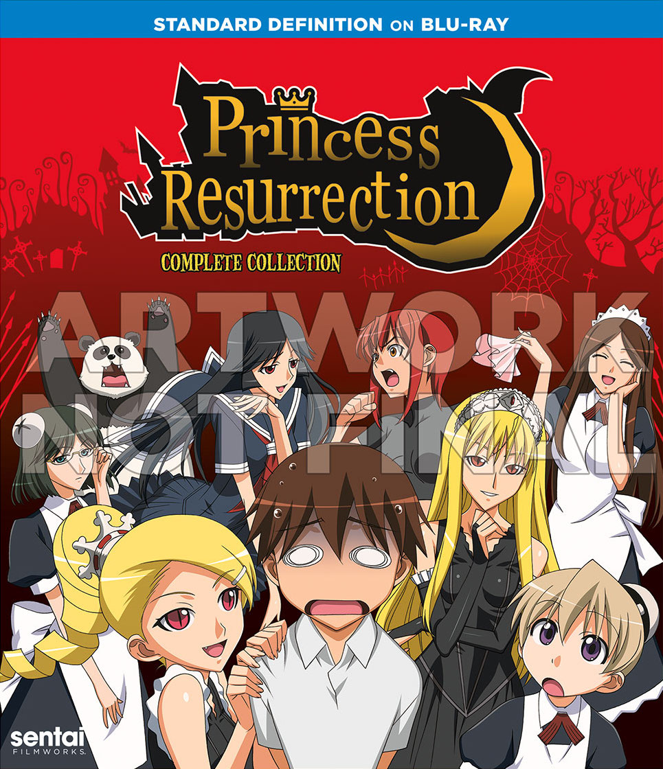 Princess Resurection Blu-Ray