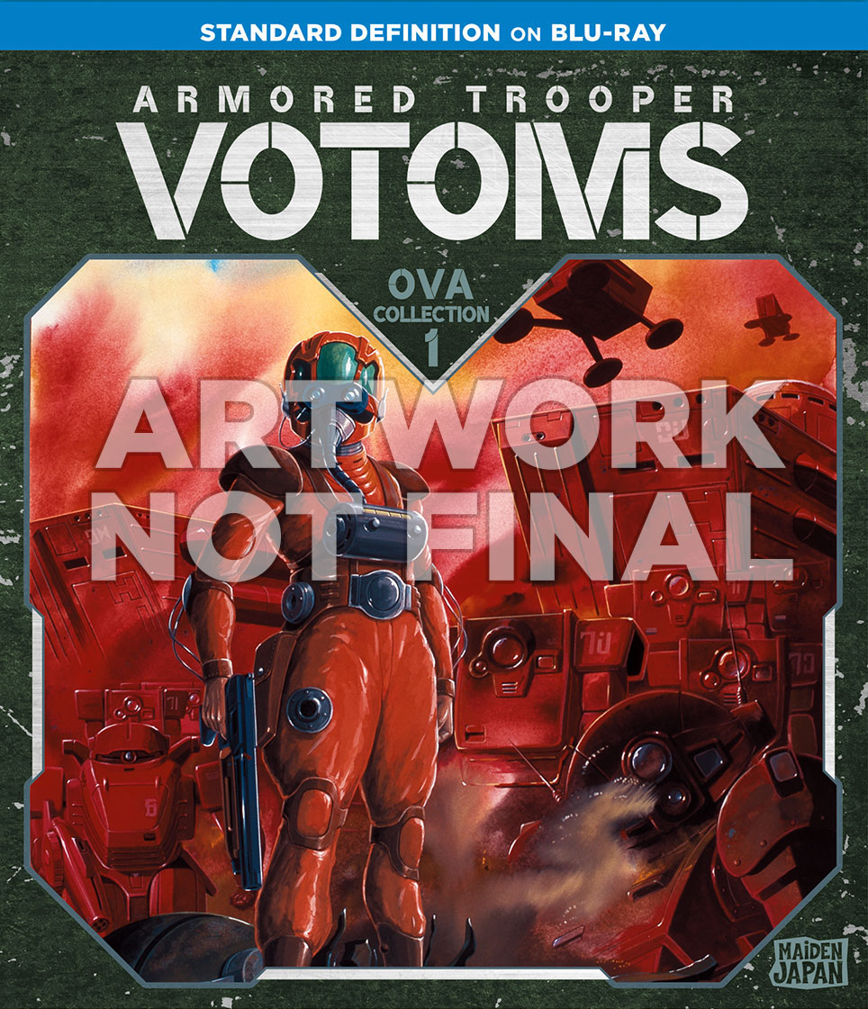VOTOMS OVA 1 Blu-Ray