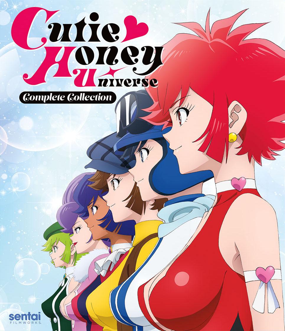 Cutie Honey Universe Cover