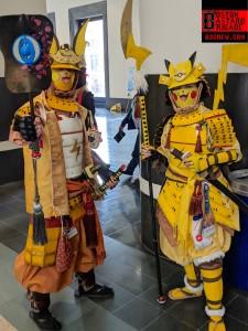 Samurai Pikachu & Raichu (Pokemon)