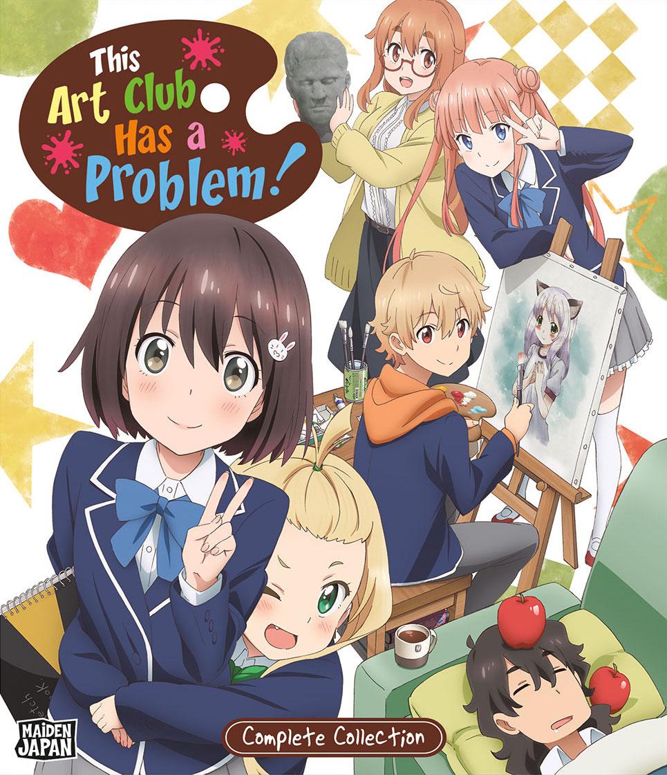 Art Club Has a Problem Blu-Ray