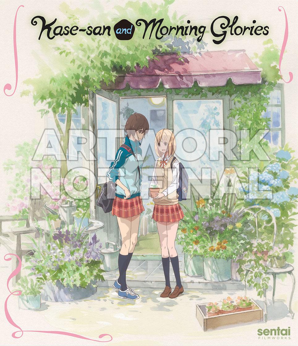 Kase-san & Morning Glories Cover