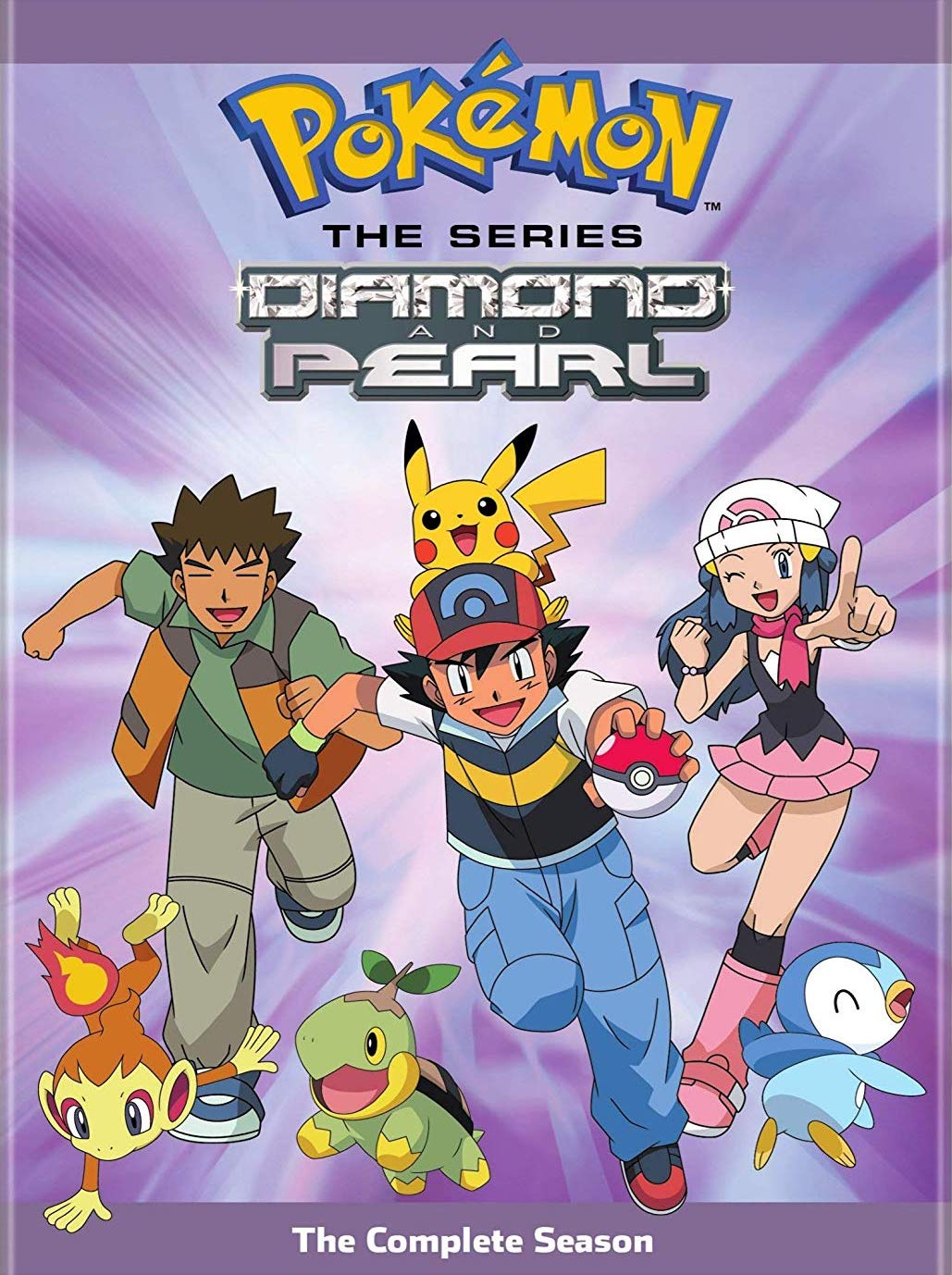 Pokemon Diamond & Pearl Cover
