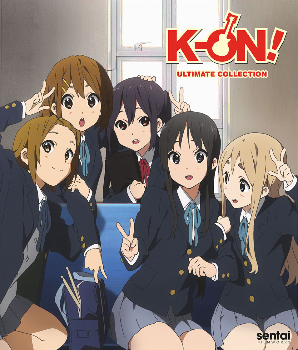 K-On! Ultimate Collection Cover