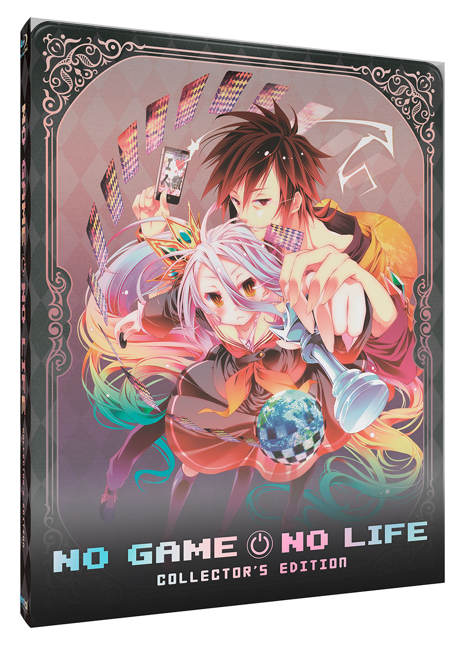 No Game, No Life Steelbook Cover