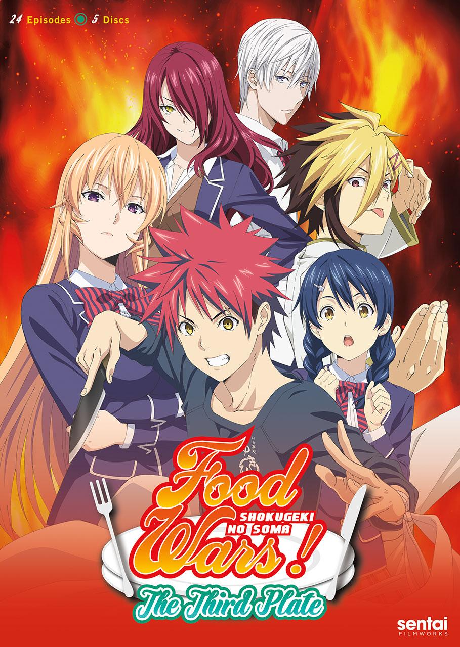 Food Wars Season 3 cover