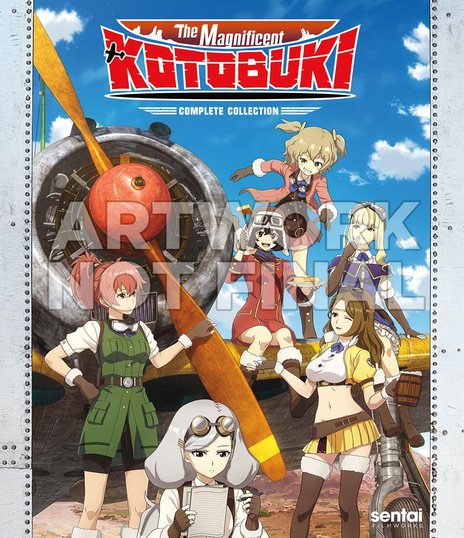 Magnificent Kotobuki cover