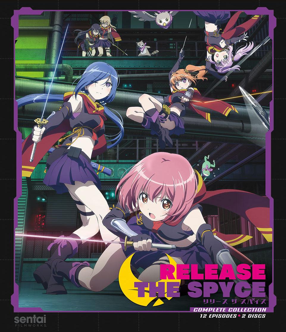 Release The Spyce Blu-Ray