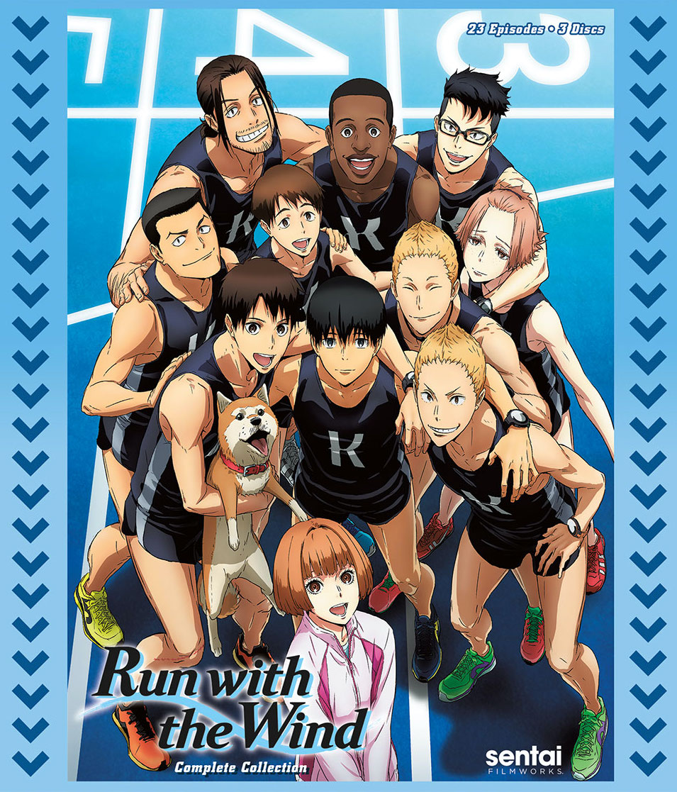Run With The Wind Blu-Ray Cover
