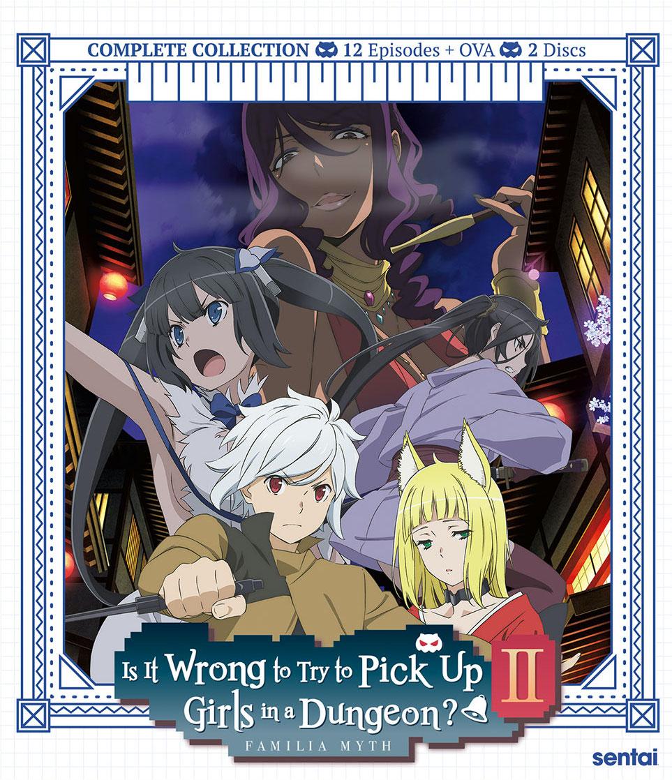 Danmachi Season 2 Cover
