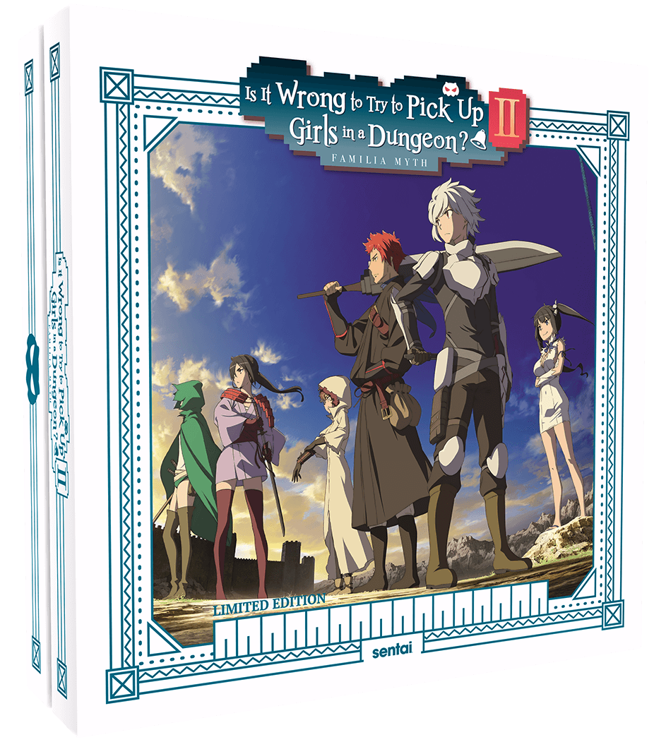 Danmachi Season 2 limited edition