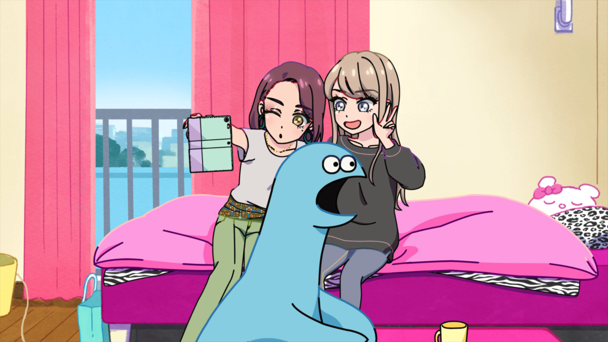 Gal and Dino Anime