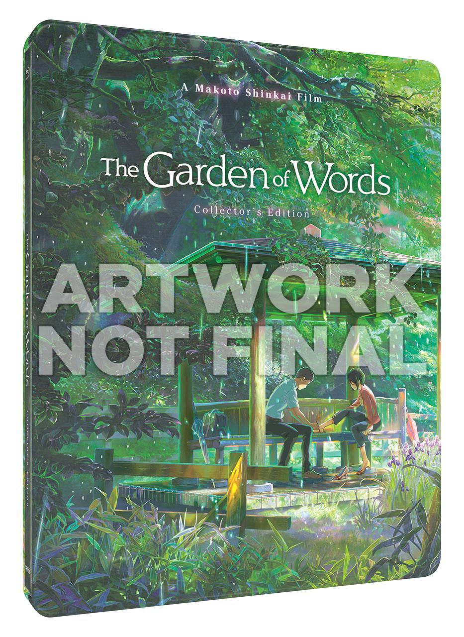 Garden of Words Steelbook