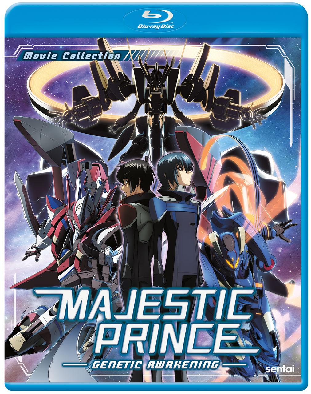 Majestic Prince Genetic Awakening Cover
