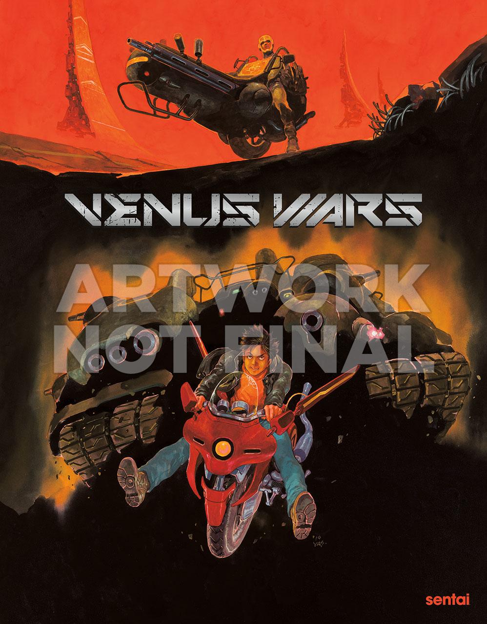 Venus Wars Cover