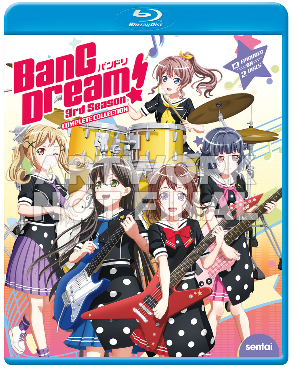 Bang Dream 3rd Season Cover