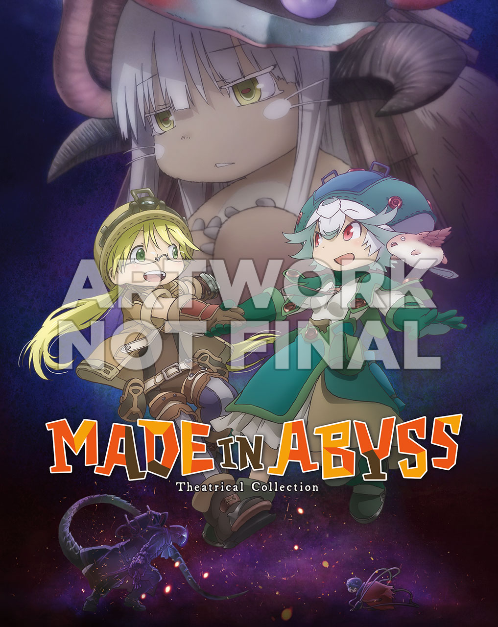 Made In Abyss Steelbook Cover