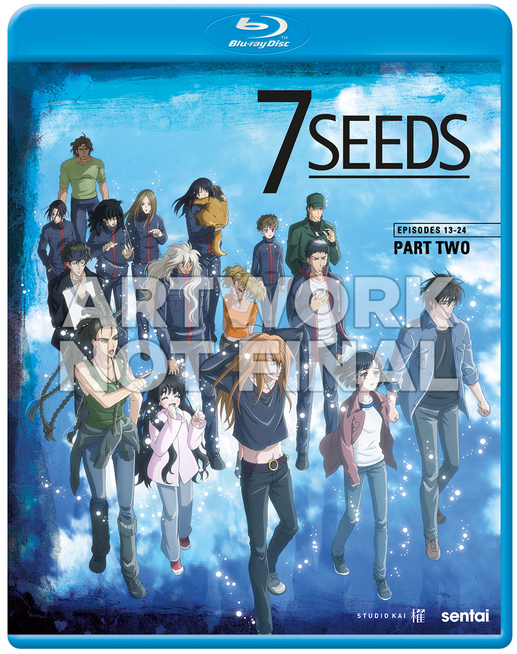 7 Seeds 2 Blu-Ray Cover
