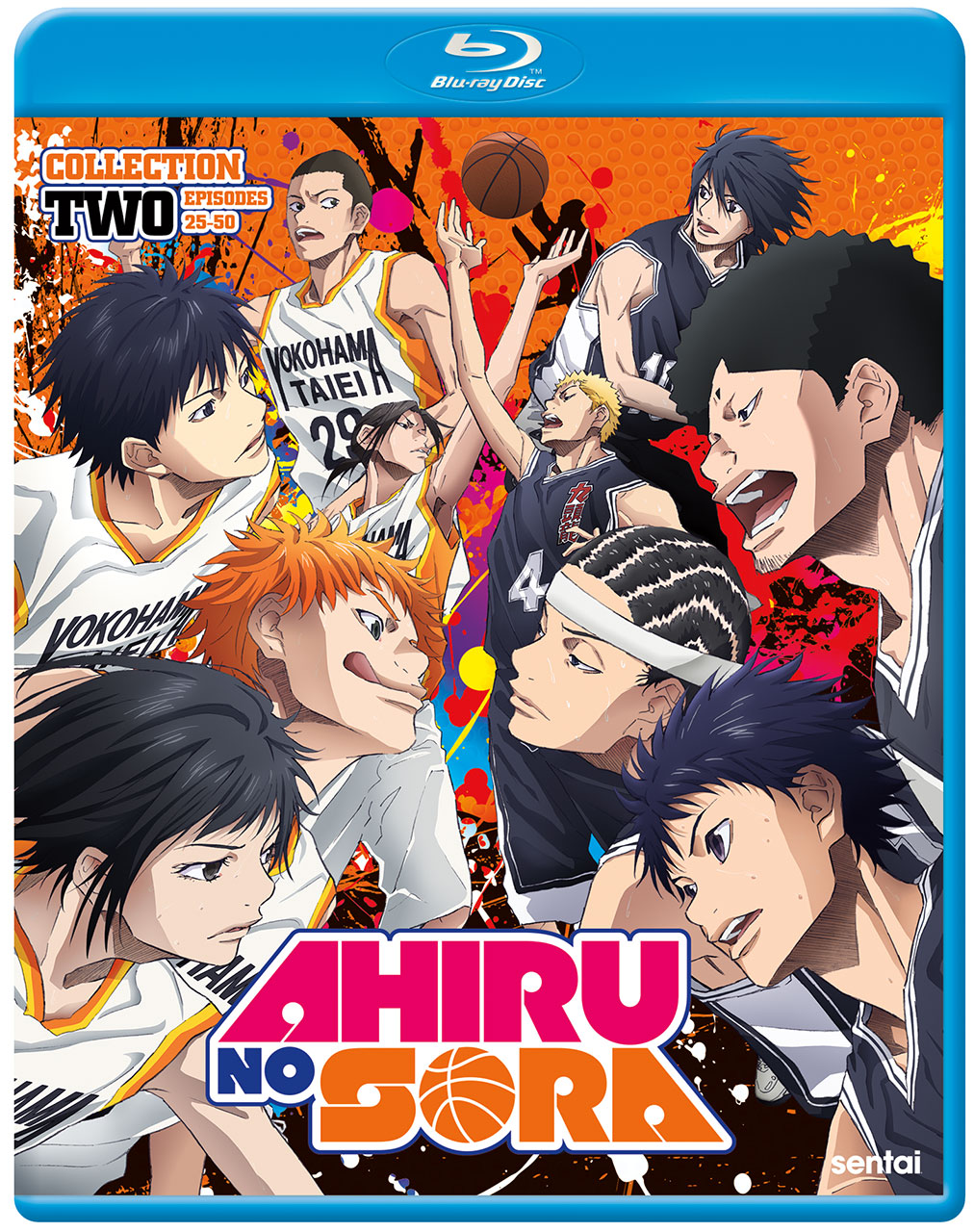 Ahiru no Sora 2 Blu-Ray Cover