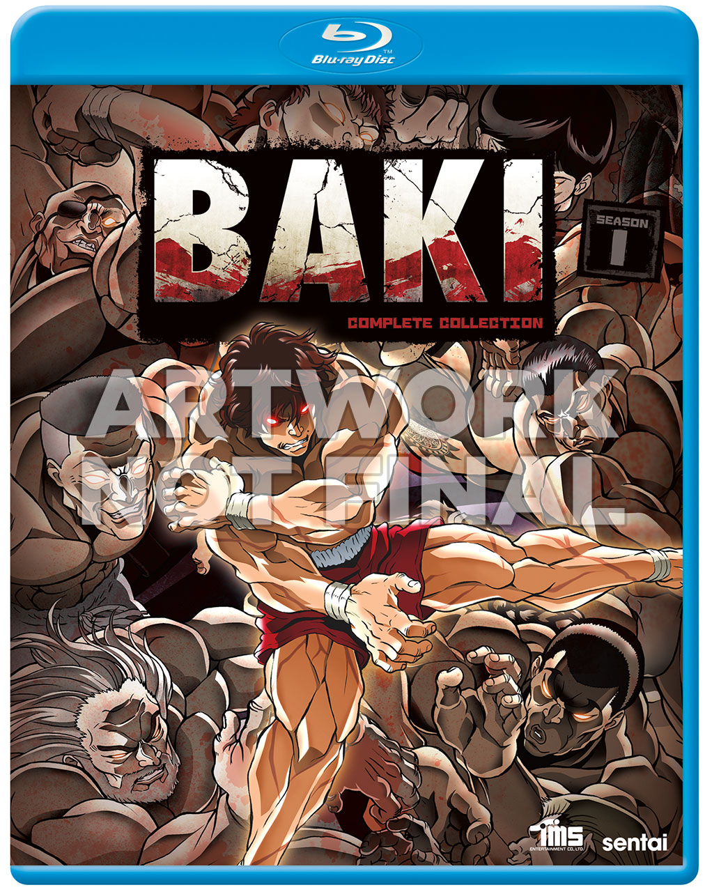 Baki Blu-Ray Cover